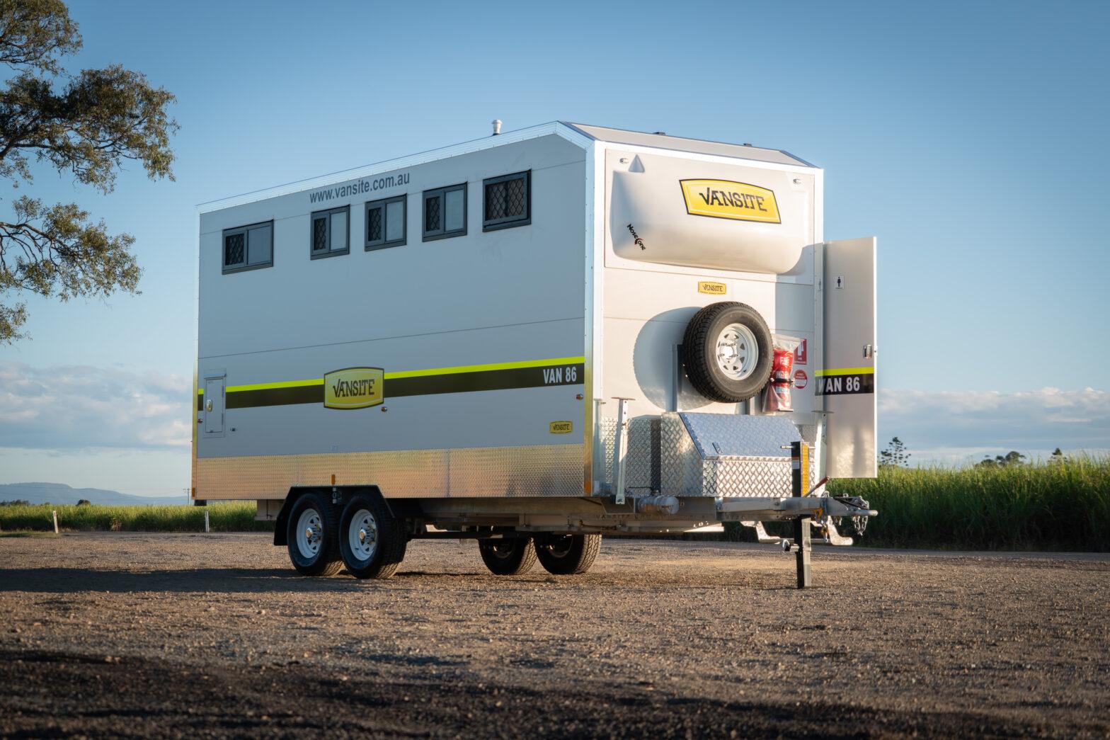 New Mobile Toilet Van!