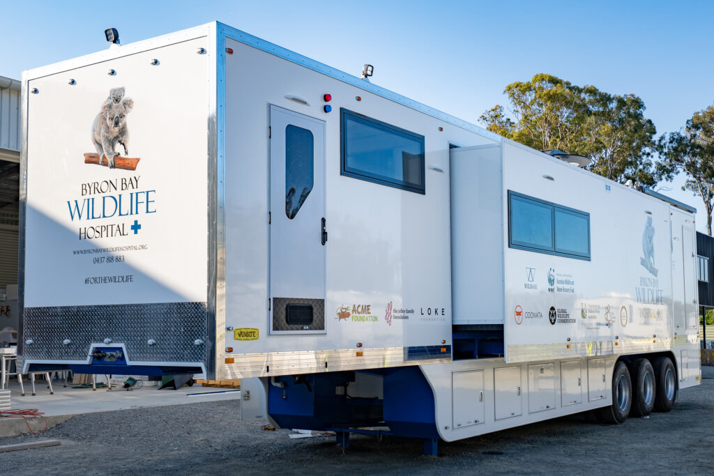 Byron Bay Mobile Wildlife Hospital designed and constructed by Vansite.